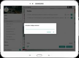 Tablet con comandas de EntreCartas