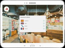 Tablet con captura app EntreCartas