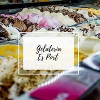 Logo Gelatería Es Port, heladería con Carta Digital EntreCartas
