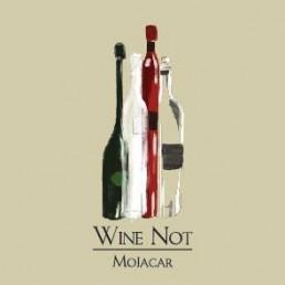 Logo Wine Not Mojacar, vinoteca con Carta Digital EntreCartas